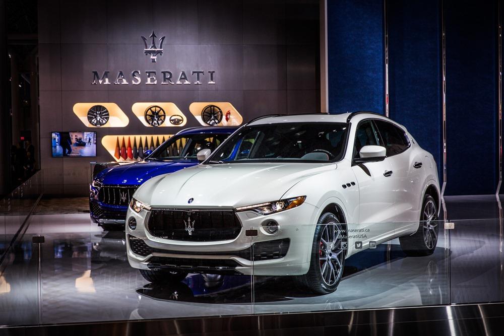 Maserati al NYIAS 2017 - Stand - Levante