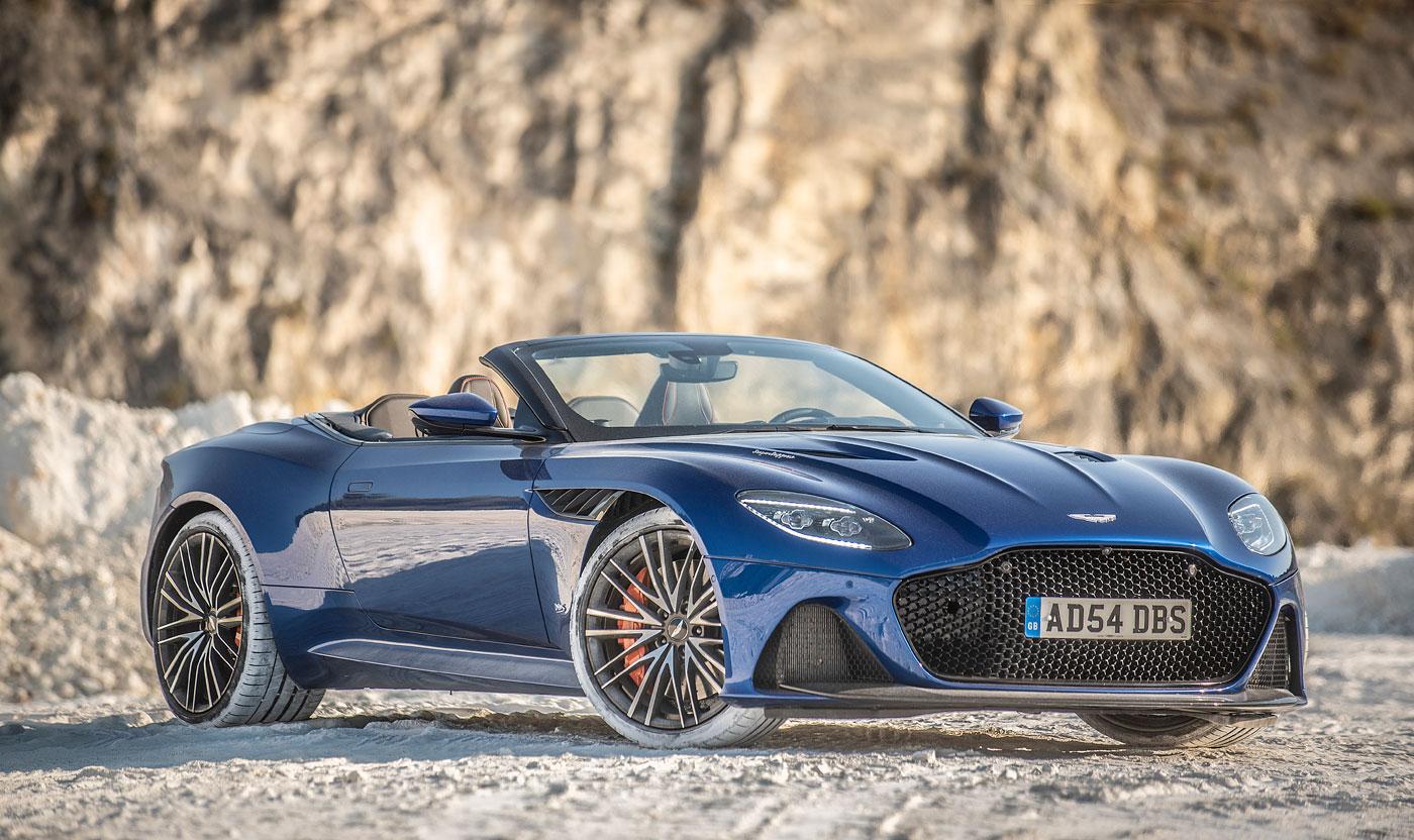 Nos Ponemos Al Volante Del Aston Martin Dbs Superleggera Volante